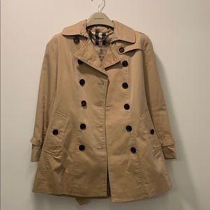 Women BURBERRY Chelsea Trench Coat Size US 2